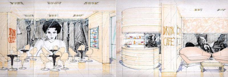 Arredamenti per il bar studio perugia for Negozi arredamento perugia